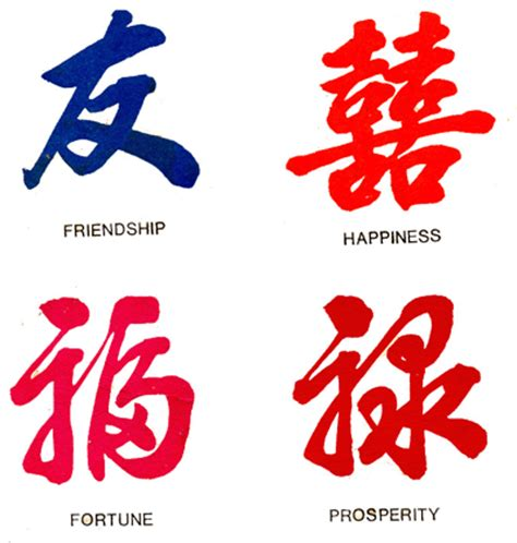 Chinese paper writing characters